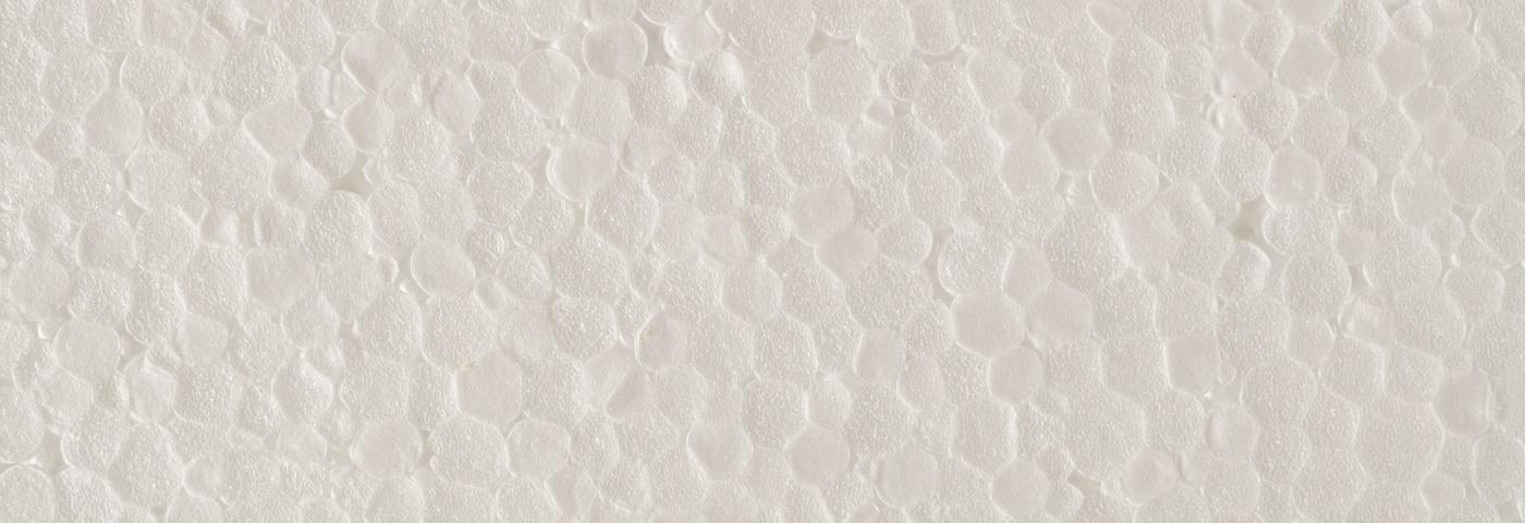 Le polystyrene, le rejet du bac de récupération