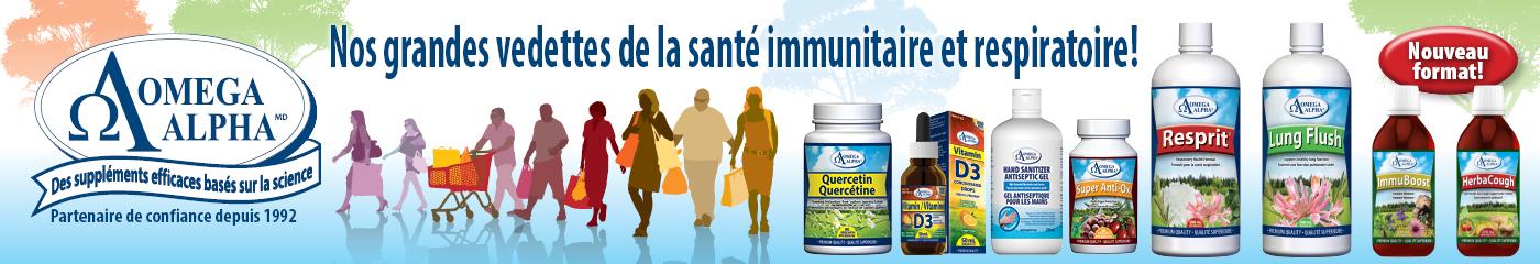 Omega Alpha FR (immunité)