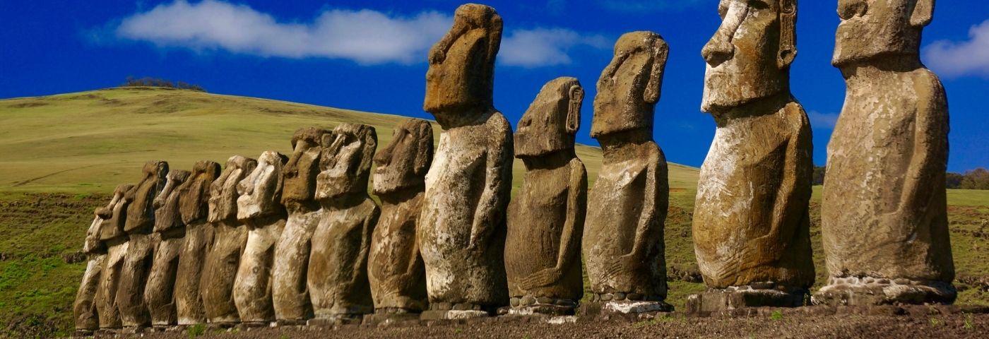 À la découverte des Moais de l'île de Pâques