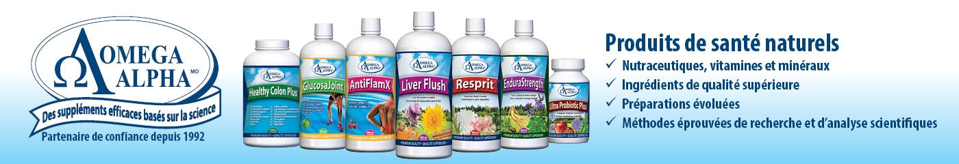 Omega Alpha produits naturels FR