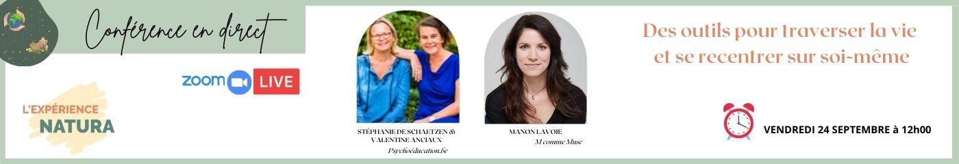 Natura – Conférence Belgique et Manon