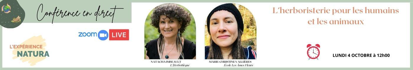 Natura – Conférence Natacha et Marie-Christine Vallières